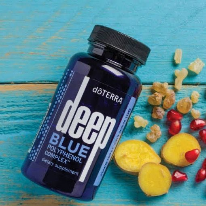 Deep Blue Polyphenol Complex